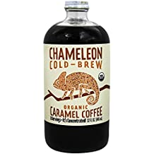 Chameleon Cold-Brew Organic Coffee Concentrate, Caramel, 32 oz