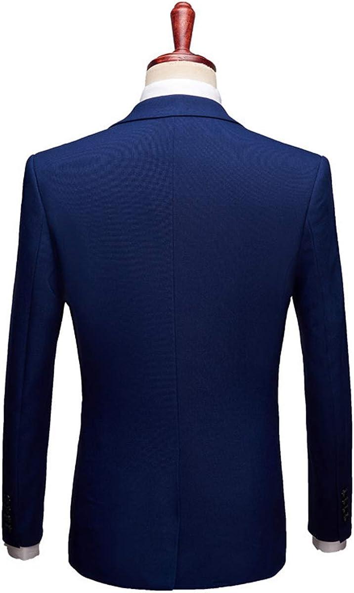 Springplus Mens Three Pieces Men Suits Jacket Slim Fit Business Groomsman Blazer Tuxedos