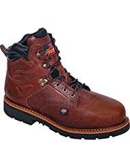 Thorogood Mens 6 Waterproof Safety Toe Leather Work Boots