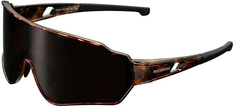 ROCKBROS Gafas de Sol Polarizadas Deportivas para Hombre y Mujer Protección UV para Bicicleta Ciclismo Pesca Running Conducir Deportes al Aire Libre: Amazon.es: Deportes y aire libre
