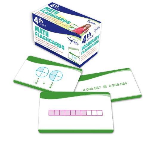 4th Grade Math Flashcards: 240 Flashcards for Improving Math