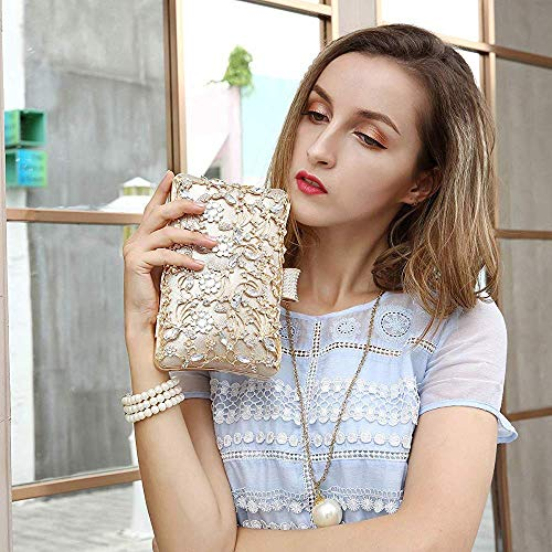 H Clutches Strap Diamond Women Women Bridal Handbag Hollow for Superw Evening Clutch and Bags Clutch Bag with Purse TzqaPd5xw