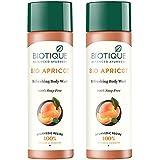 Biotique Bio Apricot Refreshing Body Wash, 190ml (Pack of 2)