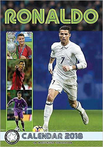 Cristiano ronaldo calendar calendars 2017 2018 wall calendars mls soccer calendar poster calendar 12 month calendar by dream megacalendars