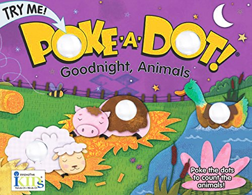 Poke-A-Dot! Goodnight, Animals , Educational Books Toys, 2017 Christmas Toys