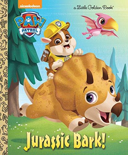 Jurassic Bark! (PAW Patrol) (Little Golden Book)]()