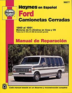 Ford Full Size Vans, 6991 (Spanish) (Haynes Repair Manuals