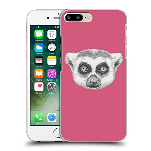 GoGoMobile Coque de Protection TPU Silicone Case pour // Q05390614 Portrait lémurien Rougir // Apple iPhone 7 PLUS