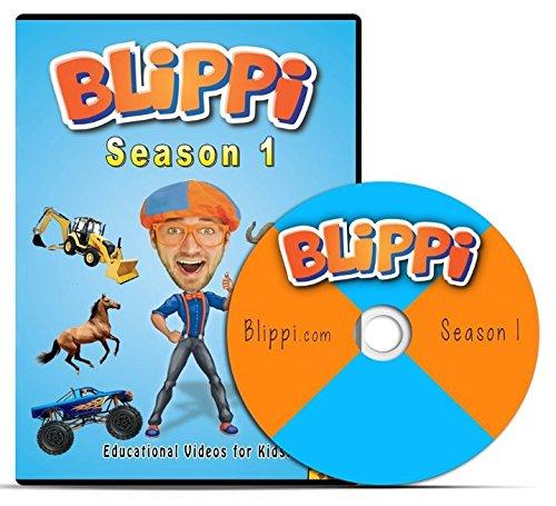 Blippi - Season 1 DVD - Educational Videos for Toddlers (Dvd Educational)