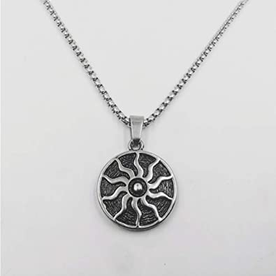 Fourthomme - Collar de Acero de Titanio para Hombre, diseño de ...
