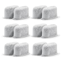 12-Replacement Charcoal Water Filters for Cuisinart Coffee Machines