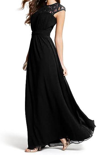 Maxi//Longue///él/égante//Robe de Cocktail Dentelle//Chiffon Taille 40-48 Look for the stars Robe Femme Soiree
