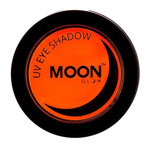Moon Glow - Blacklight Neon Eye Shadow 0.12oz Orange – Glows brightly under Blacklights / UV -