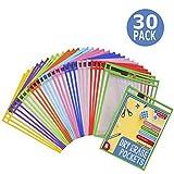 Dry Erase Pockets 30 Pack - Dry Erase Sleeves