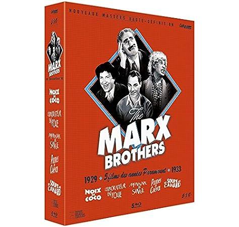 Marx Brothers - Coffret 5 Films [Francia] [Blu-ray]: Amazon.es ...