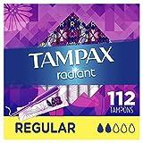 Tampax Radiant Plastic Tampons, Regular