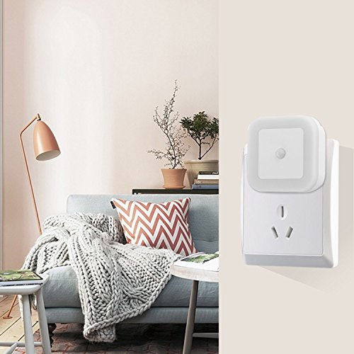 OKPOW 3 Modes Motion Sensor LED Night Light, 2 Pack