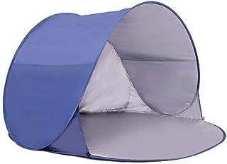 Abri instantané extérieur Tente de plage extérieure Pop Up Protection UV Enfants Bébé Abri de soleil Parasol de plage En plein air Cabana automatique UPF 50+ Ombre de soleil portable pour le camping P