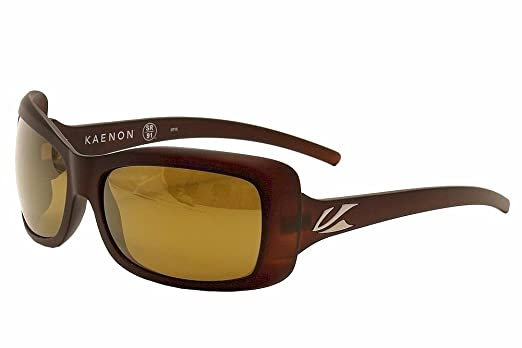 Kaenon Womens Georgia Polarized Sunglasses Gold Coast Brown 12