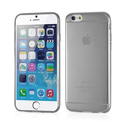 iPhone 6 Case, Legionna® Apple iPhone 6 4.7 Case Transparent Bumper Cover Shock and Anti-Scratch Clear Back for iPhone 6 4.7 Inch (Black)