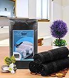 Utopia Towels Black Salon Towels, Pack of 24