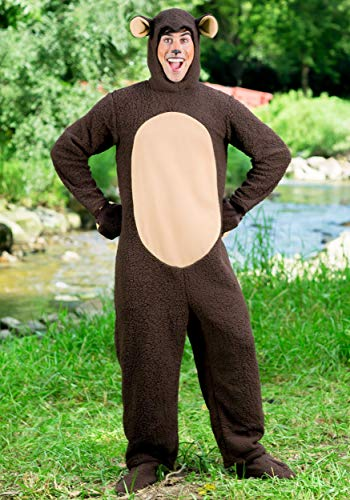 Plus Size Bear Costume Adult Bear Costume Jumpsuit 3X