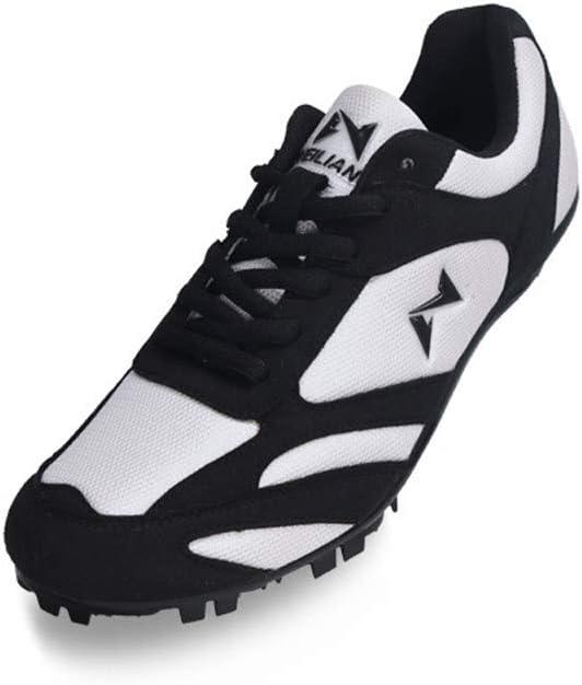AIALTS Zapatillas De Picos para Correr para Hombres Y Mujeres Zapatillas De Atletismo De Atletismo Entrenamiento De Competición Zapatilla De Deporte Zapatillas De Atletismo Profesionales,Negro,39: Amazon.es: Hogar
