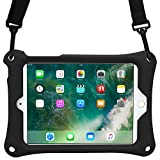 iPad Mini 1/2/3/4 case, COOPER BOUNCE STRAP Heavy Duty Rugged Tough Case Cover with Shoulder Strap and Built-in Stand for Apple iPad Mini 1/2/3/4 (Black)