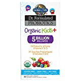 Garden of Life Dr. Formulated Probiotics Organic Kids + Chewables, 30 Count, Berry
