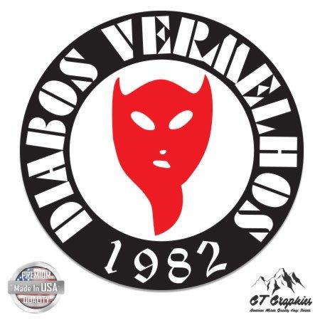 ベンフィカSupporters Ultras diabos Vermelhos – ビニールステッカー防水デカール B06WW6HLWQ 5