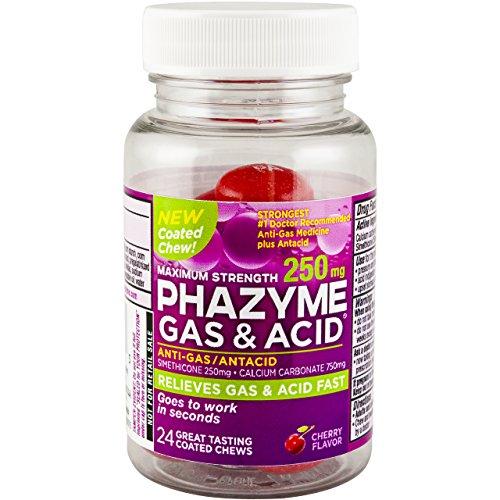 Phazyme Acid Cherry Size Chews