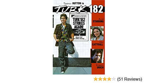 Amazon com: Turk 182: Timothy Hutton, Robert Urich, Kim