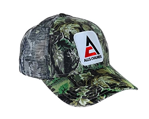Allis Chalmers Camouflage Mesh Hat, new style logo