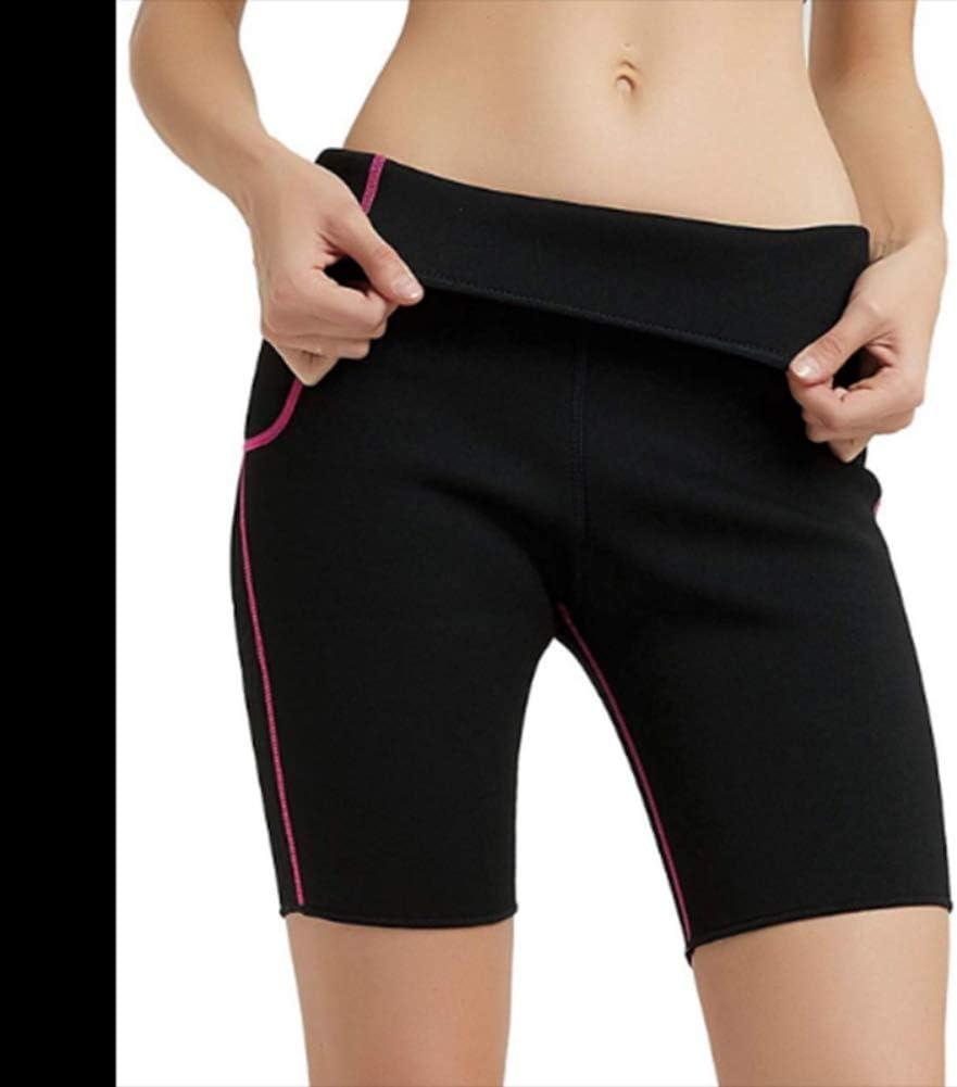 Pantalones Cortos de Yoga para Mujer Body Shaper Pantalones de Adelgazamiento T/érmico Pantalones de Entrenamiento Neoprenos Slim Fat Burning P/érdida de Peso Shapers Bragas