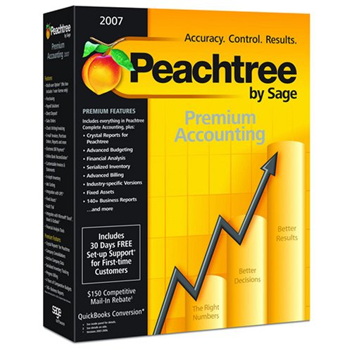 Peachtree By Sage Premium Accounting 2007