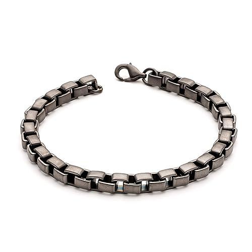 l'ultimo d3fd0 ed67c Tribal Steel Bracciali link Uomo acciaio_inossidabile ...