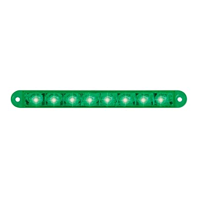 "GG Grand General 74767 Light Bar (6-1/2"" Pearl Green 8LED, 3 Wires): Automotive"