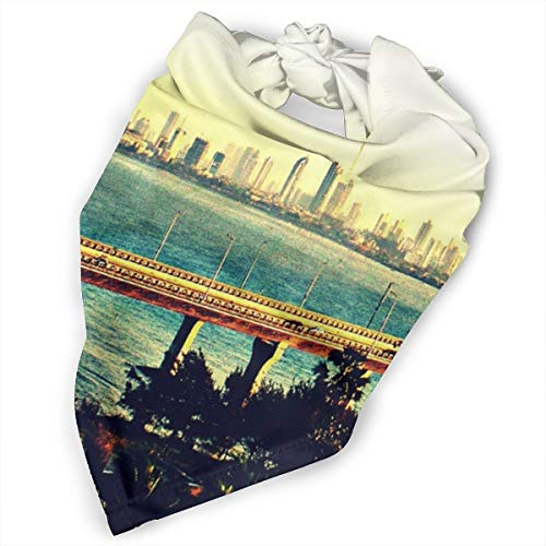 Pet Scarf Dog Bandana Bibs Triangle Head Scarfs Pagoda Sea Link Accessories for Cats Baby Puppy