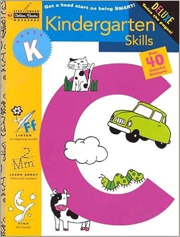 Kindergarten Skills (Kindergarten) (Step Ahead Golden Books ...
