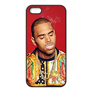 customized Chris Brown for Iphone 5,5s case iphone 5-brandy-140156