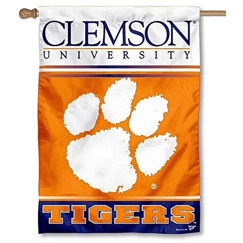 (WinCraft Clemson Tigers House Flag)