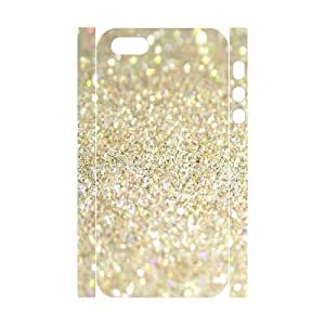 Silver Bling DIY 3D Cover Case for Iphone 5,5S,personalized phone case ygtg593400