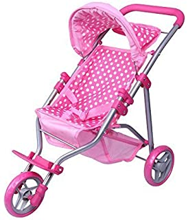 Amazon.com: Mommy & Me My First Doll Jogger - 9326C: Toys & Games