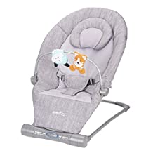 Evenflo Lyric Musical Bouncer Grey