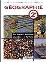 Géographie 2de : livre de l'élève par Mathieu