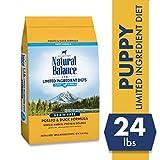 Natural Balance Puppy Formula L.I.D. Limited Ingredient Diets Dry Dog Food, Potato & Duck Formula, Grain Free, 24-Pound
