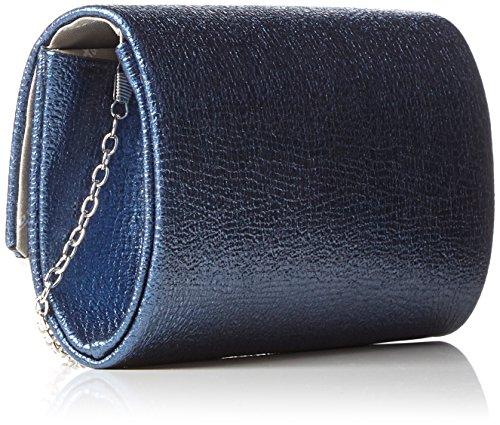 Tamaris Damen Zelda Clutch Bag, 11x5x19 cm Blau (Navy)