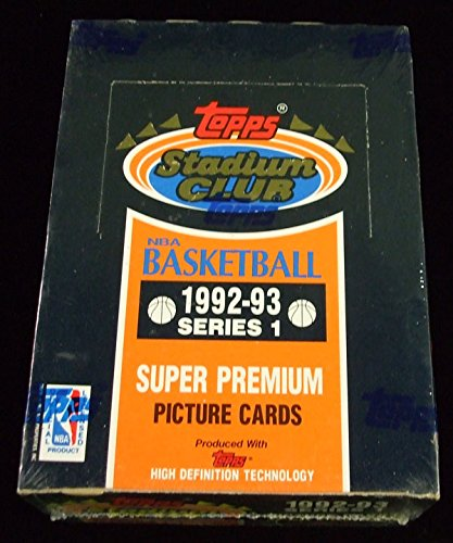 1992/93 Topps Stadium Club Series 1 Basketball Box * Sealed ()