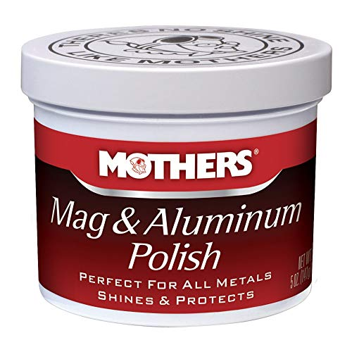 Mothers 05100 Mag & Aluminum Polish - 5 oz