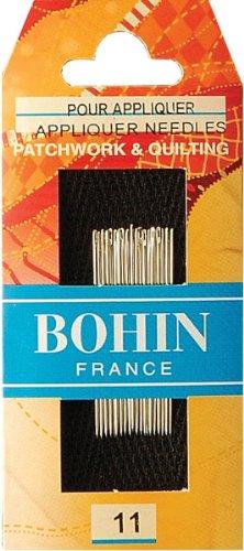 Bohin Applique Needles, Size 11, 20-Pack
